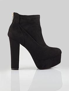 SUEDE ANKLE BOOT AF-5037 - The Fashion Project - Γυναικεία παπούτσια, ρούχα, αξεσουάρ