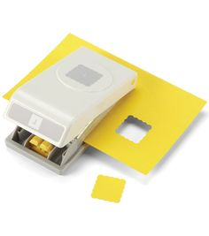 Nesting Paper Punch-Scallop Square 1