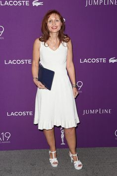 President and CEO LACOSTE  North America Joelle Grunberg attends The 19th CDGA (Costume Designers Guild Awards) with Presenting Sponsor LACOSTE at The Beverly Hilton Hotel on February 21, 2017 in Beverly Hills, California.