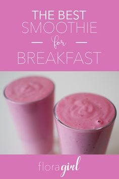 The Breakfast Smoothie That Will Keep You Energized - #breakfast #food #snack #fruit #smoothie #floragirl #collegelife #dorm