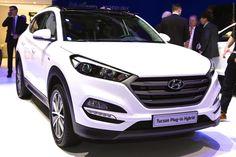 2016 Hyundai Tucson Hybrid (Geneva International Motor Show 2015) #Hyundai #Hyundai_Tucson_Hybrid #Geneva_2015