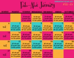 Great intro to an abs workout! Gets gradually tougher as the days go by. Love this website a workout for each month if the year Fitness Herausforderungen, Fitness Motivation, Health Fitness, Pilates, Sit Ups, Workout Calendar, Fitness Calendar, Calendar Calendar, Encouragement