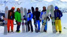 MONOSKIING Skiing Ski Monoski Vinyl Decal Car Window Bumper Sticker Rectangle