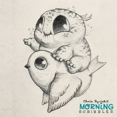 Onward!   #morningscribbles | por CHRIS RYNIAK