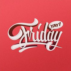 A week of lettering by Adrian Iorga