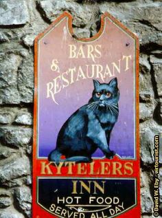 Kyteler's Inn in Kilkenny. I ate at this pub twice. It was really good, and one night there was an Irish band playing.