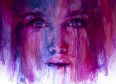 Jaw Dropping Portraits Made from Layered Pieces of Tulle