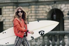 @April Cochran-Smith May Paris via TresChicNow.com #surf #fashion