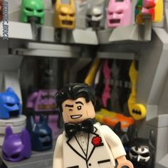 """268 Likes, 4 Comments - Custom LEGO ART & MOCS (@artistic.brick) on Instagram: """"The secret to how Batman really gets all the ladies... he shows them his walk-in closet. . . .…"""""""