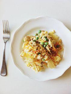 Gluten free tuna casserole !! Delicious comfort food !