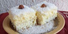 Besten Kuchen: Rezept! Raffaello-Schnitten