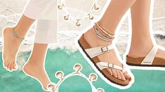 Anklets Are Summer Coolest Jewelry Trend Fast Fashion, Fashion Wear, Fashion Jewelry, Layered Jewelry, New Fashion Trends, Bare Foot Sandals, Fashion Story, Toe Rings, Jewelry Trends