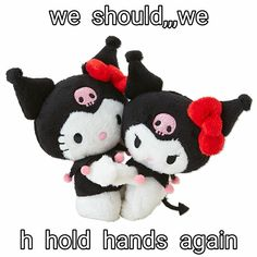 Sanrio Japan, Carl Y Ellie, My Melody Sanrio, Cute Love Memes, 40th Anniversary, Wholesome Memes, Mood Pics, Plush Dolls, Reaction Pictures