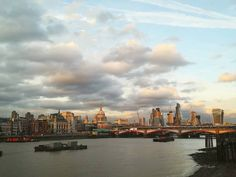 Although we do like to escape city life from time to time it's hard not to love London with views like this