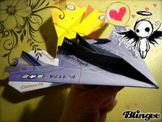Papier Flugzeug vorlage drucken