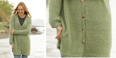 Weekend Walk knitted cardigan | the knitting space