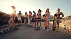 Amazing group of girls crushing it on longboards, great music and what appears to be great times! Endless Roads 2 - The Island by Juan Rayos. ·Roadtrip in Spain with the Longboard Girls Crew.