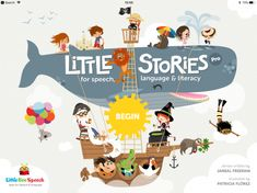 Little Stories was developed to improve reading fluency, comprehension, receptive and expressive language. Spelling and phonemic awareness are also addressed in this comprehensive app from Little Bee Speech