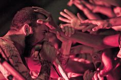 """now-mon: """" Jake Luhrs (vocalist of August Burns Red) """" August Burns Red, Prints, Men, Concerts, Musicians, Guys, Music Artists, Composers"""