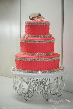 bling cake bands