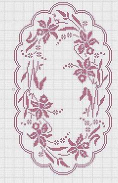 Crochet And Arts: Filet Crochet Wipes Crochet Table Runner Pattern, Crochet Edging Patterns, Filet Crochet Charts, Crochet Tablecloth, Hand Embroidery Patterns, Crochet Motif, Crochet Doilies, Stitch Patterns, Fillet Crochet