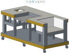 Mobile Workbench - PTC Creo Parametric,PTC Creo Parametric - 3D CAD model - GrabCAD