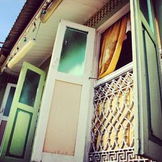 "Beautiful Malay House Architecture - local call it ""Kampung"" House"