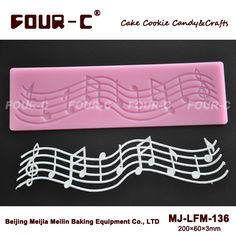 NEW Lace silicone mat,cake border mould,cake side lace mold, music design lace mold, lace stencil template  free shipping-in Cake Molds from Home & Garden on Aliexpress.com | Alibaba Group