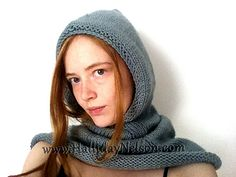 Free Pattern: Basic Hooded Cowl by Halliday Nelson