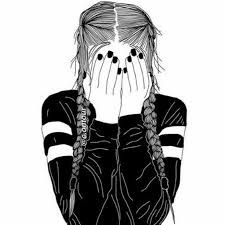 Resultado de imagen para chicas tumblr dibujo