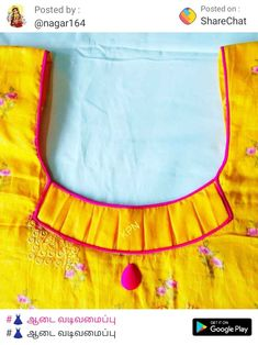 Chudidhar Neck Designs, Dress Neck Designs, Kurti Neck Designs, Churidar Designs, Sewing Techniques, Fashion, Moda, Fashion Styles, Fashion Illustrations