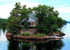 A house island