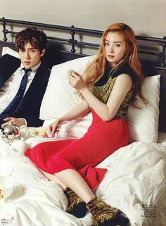 Sehun and Irene for Ceci Magazine Exo Red Velvet, Red Velvet Irene, Kpop Couples, Cute Couples, K Pop, Sehun Irene, Got7, Kyungsoo, Chanyeol