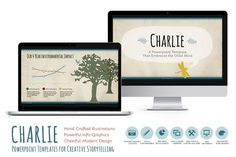 Charlie Powerpoint Template by Blixa 6 Studios on @creativework247