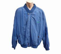 Vintage Daniel Hechter paris men bomber jacket by SilhouettesArt