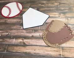 Baseball Die Cuts, Baseball Party Decor, Baseball Cutouts