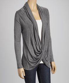 Red Crisscross Drape Top | Something special every day