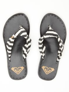 roxy! I have these in black and also in tan with stripes... I NEED these!
