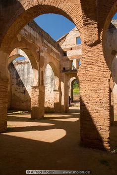 Mosque ruins in Rabat, Morooco