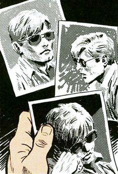 Matt Murdock by Frank Miller and David Mazzucchelli