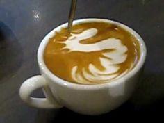 BaristaJam.com » The world's Latte Art Hub » How to make a Latte Art Dragon