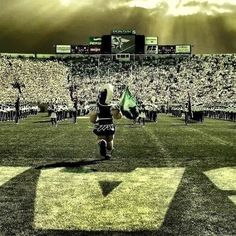 Sparty and Band!