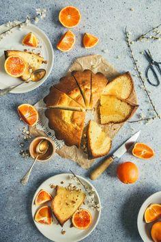 Gâteau à l'huile d'olive et aux oranges sanguines / Blood orange and olive oil cake