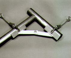 Tubing Clamps by Lowbuck Tools. Made a couple of these about ten years ago, super handy for chassis and cage work.