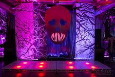 Things are getting spooky at Cami's Bat Mitzvah, Photography courtesy of Lee Ross,  Decor by @hmrdesigns