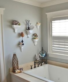 Rubbed Bronze Wall Sconce : Wall Sconce Shelf Ideas for the Bathroom. Featured on Completely Coastal. Mirror Candle Wall Sconce, Bronze Wall Sconce, Rustic Wall Sconces, Wall Sconce Lighting, Driftwood Shelf, Coastal Decor, Wall Shelves, Bedroom Decor, Bedroom Table