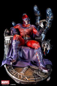 XM Studios Magneto Statue | eBay