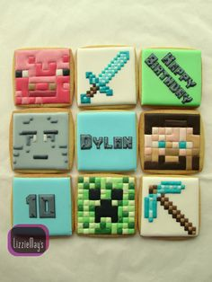 Minecraft cookies | Cookie Connection
