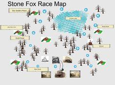 Stone Fox Race map