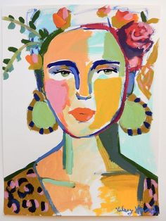 Inspiring interview with NC artist Kelsey Howard. Painting Inspiration, Art Inspo, Art Sketches, Art Drawings, Amazing Drawings, Portrait Art, Portraits, Face Art, Painting & Drawing